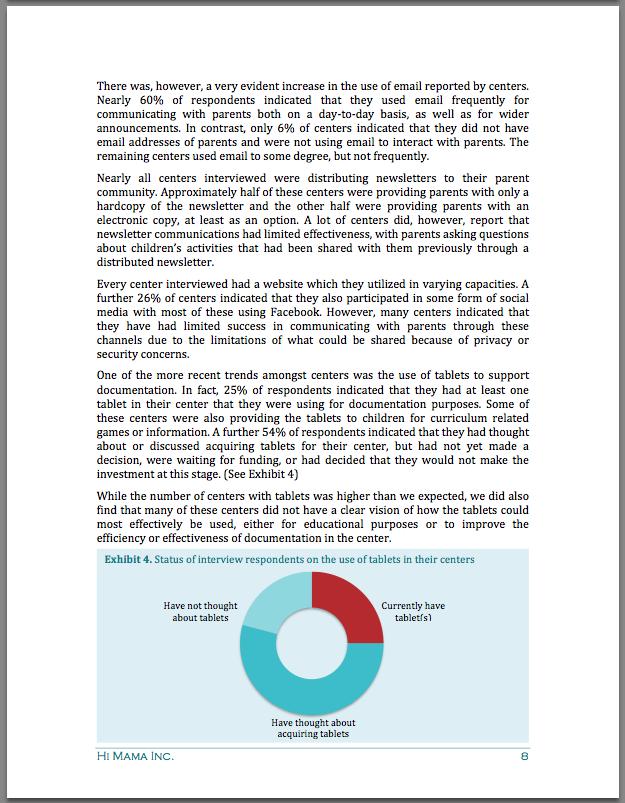 HiMama 2013 Report 3