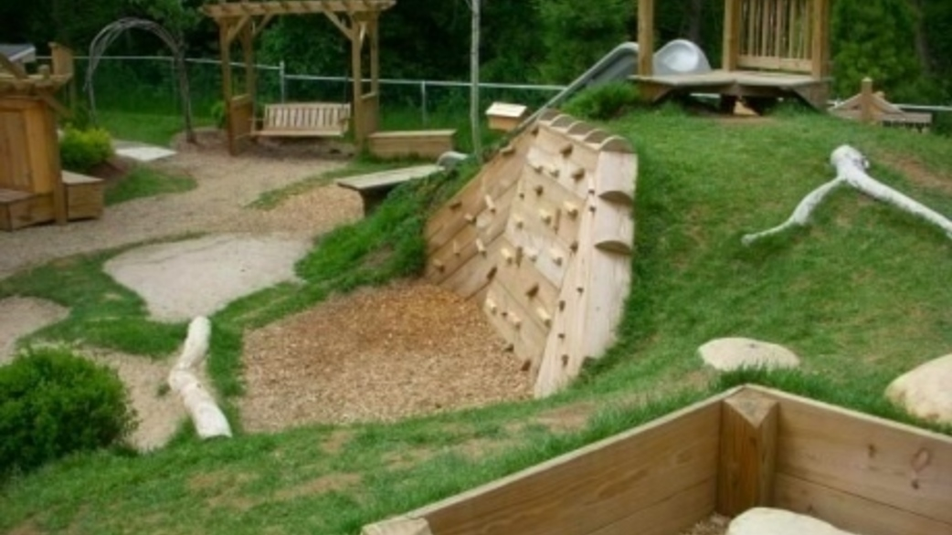 Himama simple natural playground ideas for your preschool - Natural playgrounds for children ...